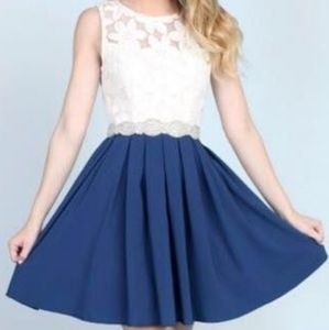 NWT Altar'd State Dress with Full Skirt Detailed M